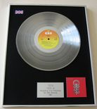 TOTO - TOTO IV PLATINUM LP presentation Disc
